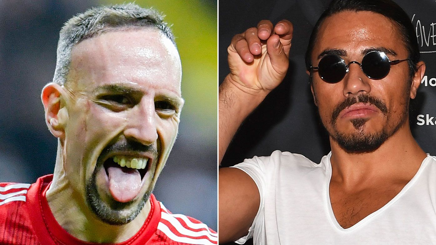 Franck Ribery courts controversy after eating Salt Bae's $1,000 gold-coated steak