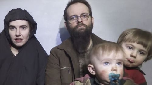 American woman Caitlin Coleman claims her husband Joshua Boyle, from Canada, physically and emotionally abused her during the pair's five years as hostages of the Taliban-linked Haqqani network.