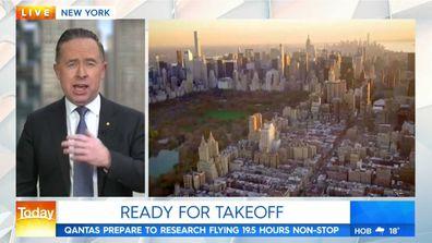 Qantas CEO Alan Joyce on Today Show