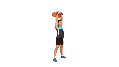 <strong>How to a kettlebell clean, squat and press</strong>