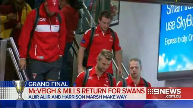 Swans prepare for tough decider