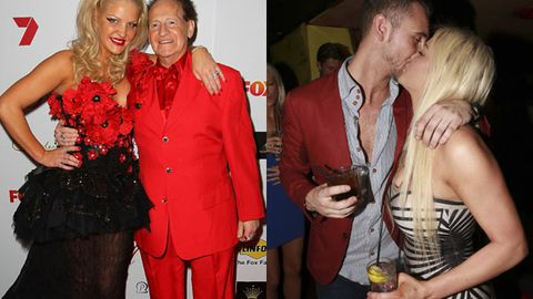 Geoffrey Edelsten steps out with new love interest... who looks just like ex Brynne