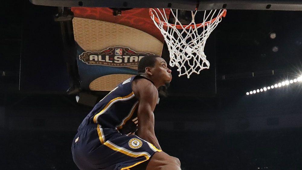 Robinson wins All-Star slam dunk crown