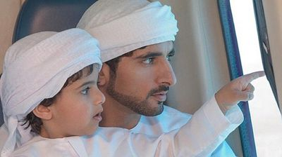 It was not Mohammed's first brush with royalty, with Al Maktoum, 32, being the Crown Prince of Dubai. <p></p><p></p>
