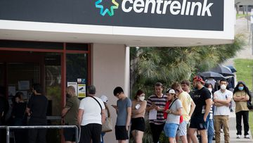JobSeeker entitlements have been extended for months but the rate will be cut after September by $300 a fortnight.