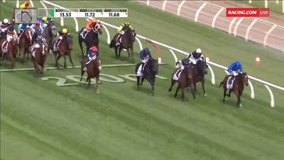 Best Solution wins the $5m Caulfield Cup