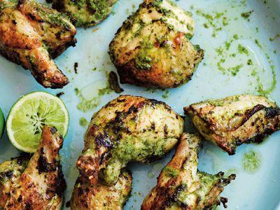 """Recipe:<a href=""""https://kitchen.nine.com.au/2018/01/11/12/51/green-chicken"""" target=""""_top""""> Green chicken</a>"""