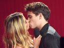 Addison Rae, Tanner Buchanan, kiss 2021 MTV Movie & TV Awards