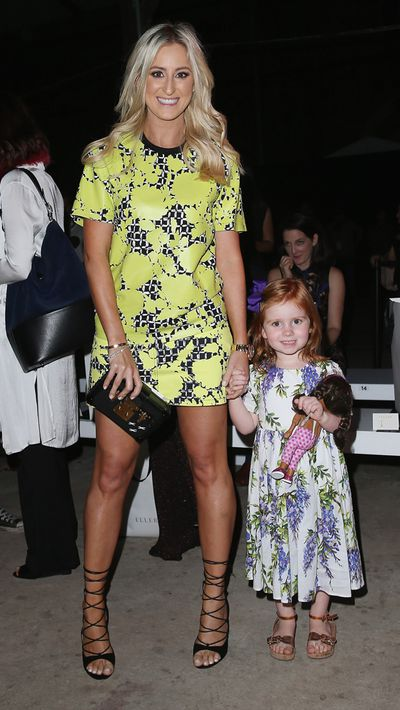 Roxy Jacenko and her daughter Pixie