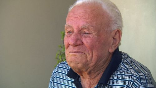 Martino Colacicco has lived at his Five Dock home since 1966.