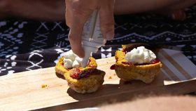 Colleen's pumpkin scones from Married at First Sight