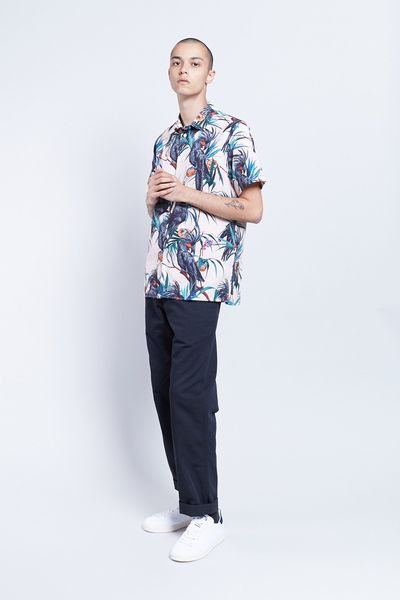"<p><strong>Get shorty </strong></p> <p>Paul Smith Cockatoo shirt, $215 at <a href=""https://www.incu.com/products/paul-smith-ss-cockatoo-shirt-pink"" target=""_blank"" draggable=""false"">Incu</a></p>"