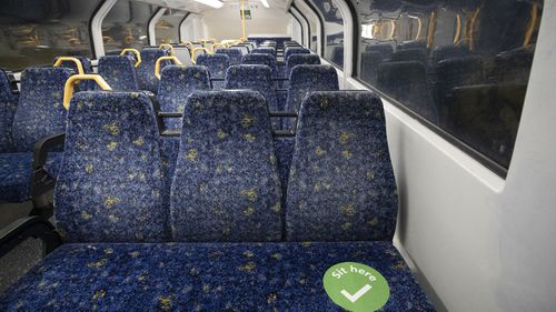 Strict rules will be in place on public transport across NSW from tomorrow.