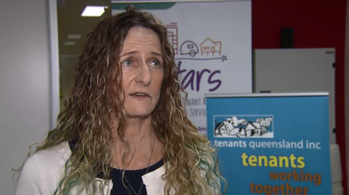 Penny Carr from Tenants Queensland warns of what a hot property market could do to Queensland.