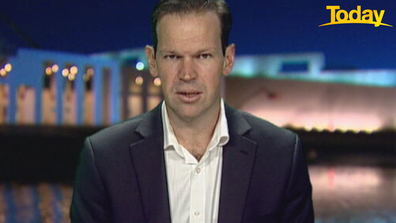 Senator Canavan said gender quotas would 'not stop bad behaviour'.