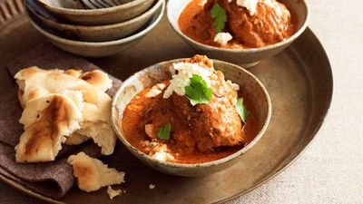 "<a href=""http://kitchen.nine.com.au/2016/05/16/12/28/butter-chicken"" target=""_top"">Butter chicken</a><br /> <br /> <a href=""http://kitchen.nine.com.au/2016/06/06/22/59/spice-up-your-life-with-our-favourite-curries"" target=""_top"">More curry recipes</a>"
