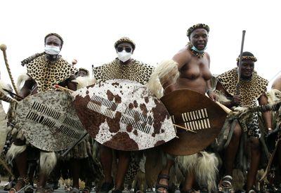 South Africa's Zulu king dies
