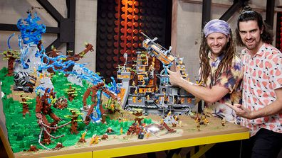 LEGO Mastes Final Challange Owen and Scott