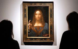 Christ's fingers could prove Da Vinci never painted $625m artwork Salvator Mundi