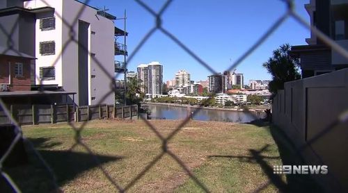 The vacant block was snapped up by a local tech executive. Picture: 9NEWS