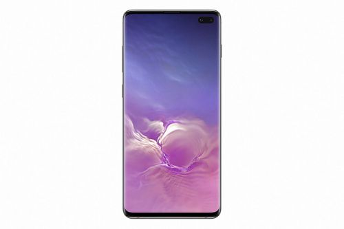 The flagship S10 is almost all screen.