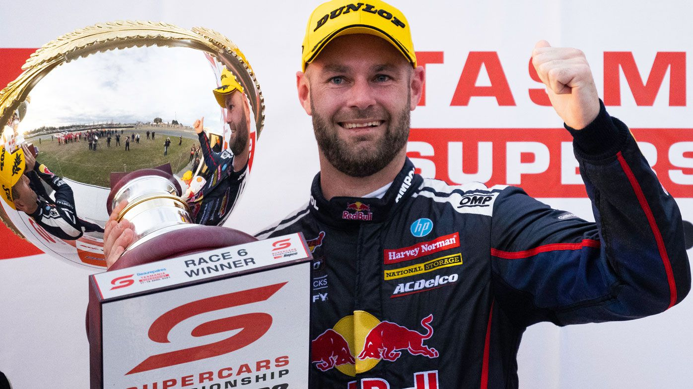 Shane Van Gisbergen claims the Tasmania SuperSprint. (Getty)