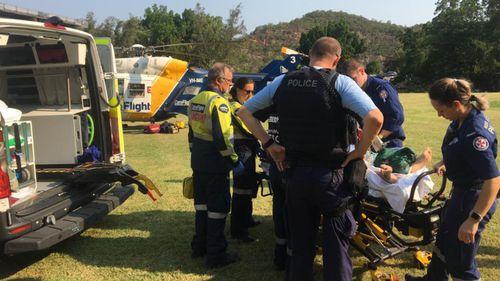 Man suffers burns in NSW jet ski explosion
