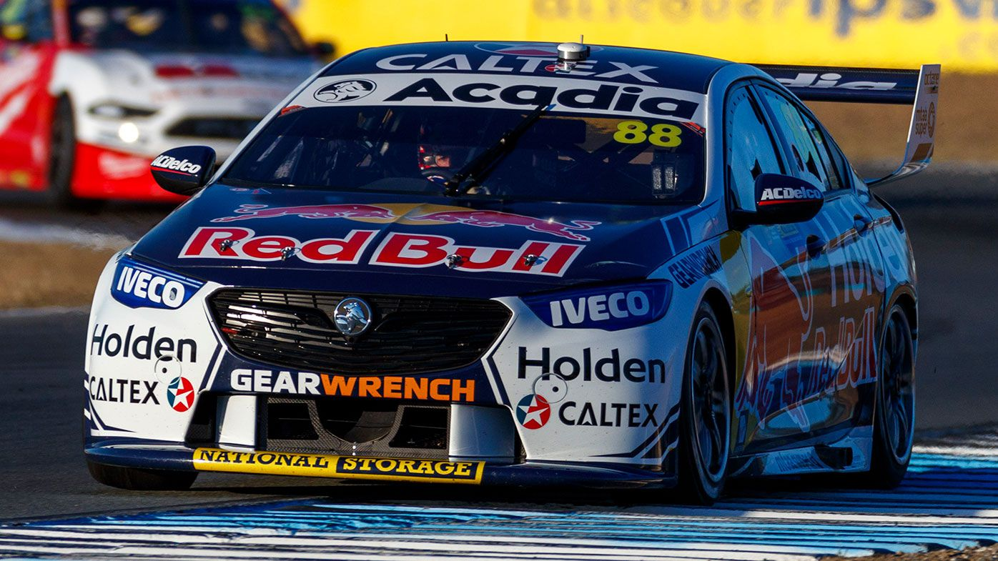 Jamie Whincup is in hot water over comments directed at race officials.