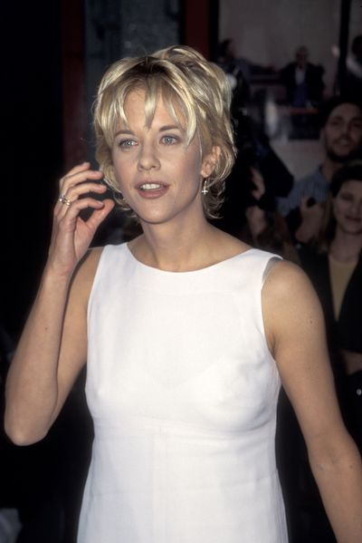 Meg Ryan at the premiere of <em>French Kiss</em> in 1995.