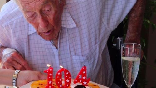 The Perth-based ecologist marked his 104th birthday earlier this month. (GoFundMe)
