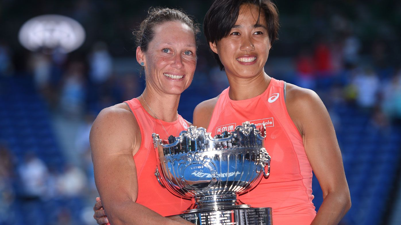 Stosur and Zhang claim doubles title