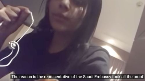Friends of Saudi woman Ms Alqunun claim she was almost forced onto a flight from Thailand back to Kuwait despite seeking asylum in Australia.