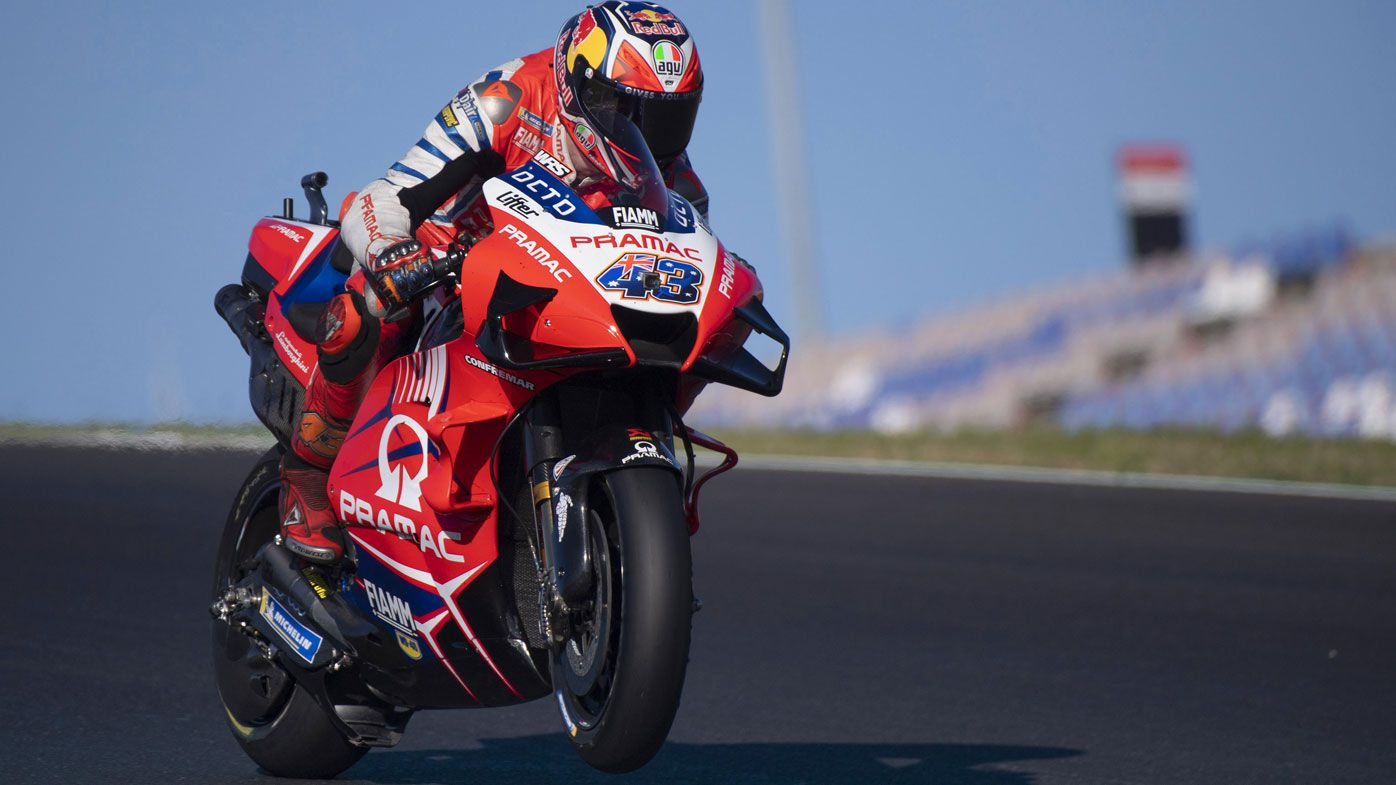 Jack Miller bids emotional goodbye to Pramac Racing after second in MotoGP Portugal