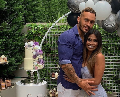 Cyrell is now dating Love Island alumni Eden Dally.
