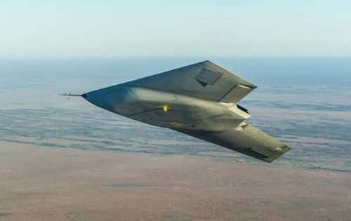 The British Aerospace Engineering Systems Taranis is an unmanned drone said to be capable of reaching speeds over 1100km/h. (Supplied.)