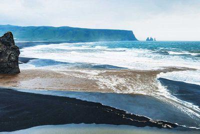 18. Reynisfjara Beach in Iceland