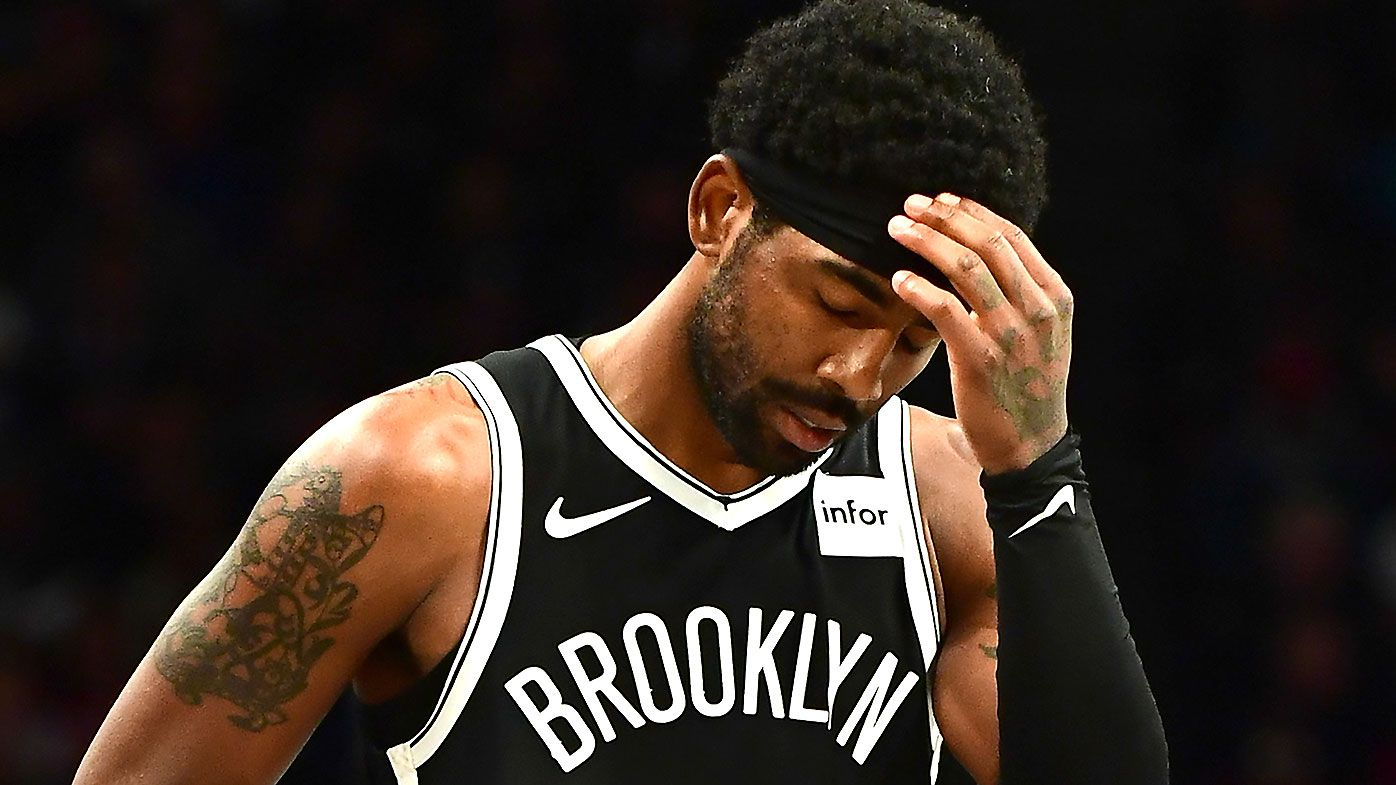 Kyrie Irving's mysterious NBA absence has already cost the Brooklyn Nets star more than A$1 million