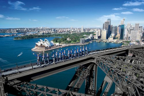 After two decades, BridgeClimb's contract to run the Sydney Harbour Bridge has been won by Scenic World. Picture: BridgeClimb