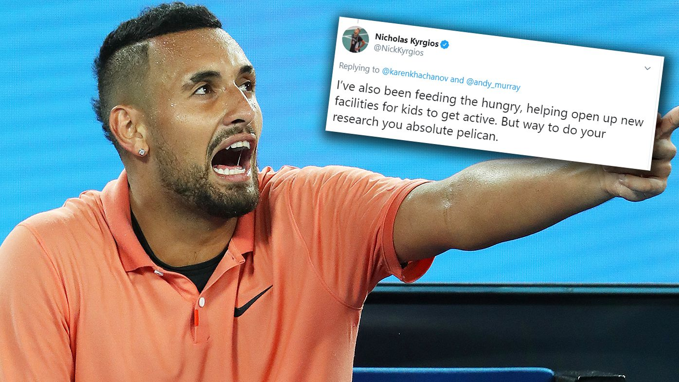'Absolute pelican': Kyrgios in fresh Twitter spat, this time with Khachanov