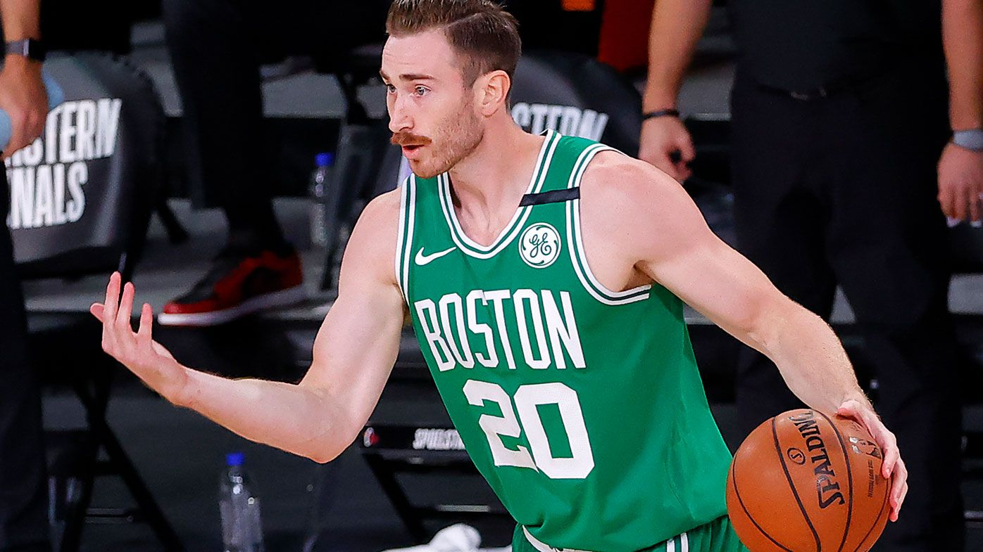 Gordon Hayward is reportedly set to walk from the final year of his contract at Boston. (Getty)