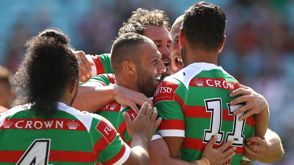 Souths rout Dragons in Charity Shield