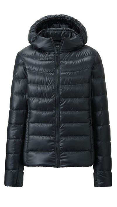 "<a href=""http://www.uniqlo.com/au/store/w-s-light-down-parka-1275010007.html"" target=""_blank"">Ultra Light Down Parka, $99.90, Uniqlo</a>"