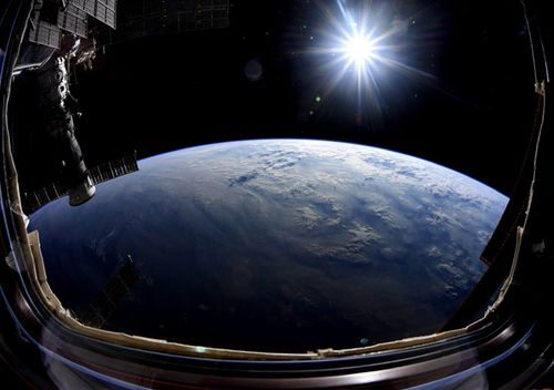 In September NASA Astronaut Nick Hague shared a stunning view of the Earth on Monday in his final week aboard the International Space Station. Flat-Earth believers claim NASA is a fraudulent organisation and that all the photographs and video footage we have from space are computer-generated imagery.