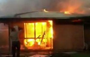Elderly man killed after gas bottles explode inside home