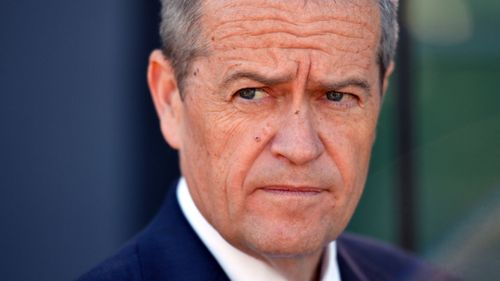 """Bill Shorten said he was """"sorry we've got to this point""""."""