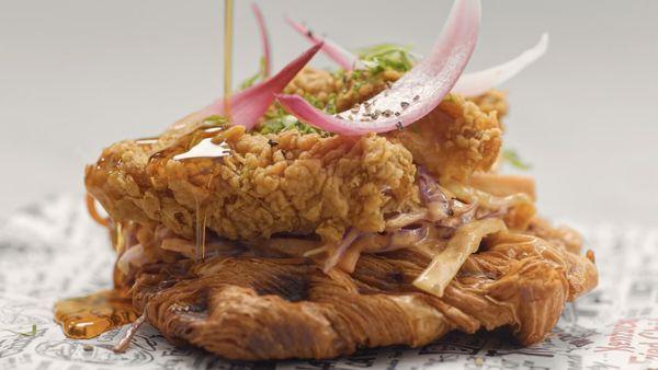 KFC's chicken 'n croffle is a breakfast winner