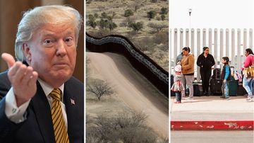 News World US Mexico border dispute Donald Trump car tariffs threats