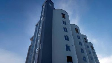Peppers Silo Hotel, built in an abandoned grain silo