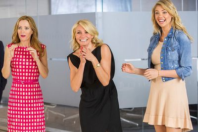 <b>US$18 million</b><br/><br/>Say what you want about 2014 comedy <i>The Other Woman</i>. Even though it was panned by critics, the female-led comedy made a mint! Yep, that film with a $40 million budget made over $194 million. We're betting Cameron's 2014 film <i>Sex Tape</i> will also secure her spot in next year's list.<br/><br/>Image: Leslie Mann, Cameron Diaz and Kate Upton in <i>The Other Woman</i> / 20th Century Fox.