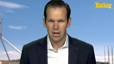Queensland Senator Matt Canavan believes China is not acting like a friend.
